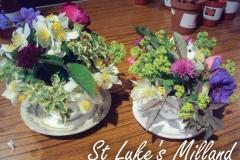 Flowers at St Luke\'s Milland June 2016