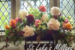 Flowers at St Luke's Milland June 2016
