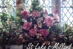 Flowers at St Luke\'s Milland June 2016