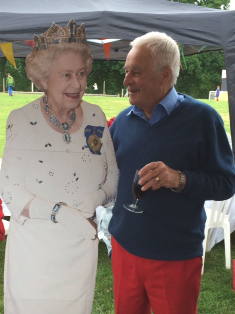 Milland's celebration of the Queen's 90th birthday